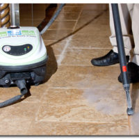 grout cleaning floor