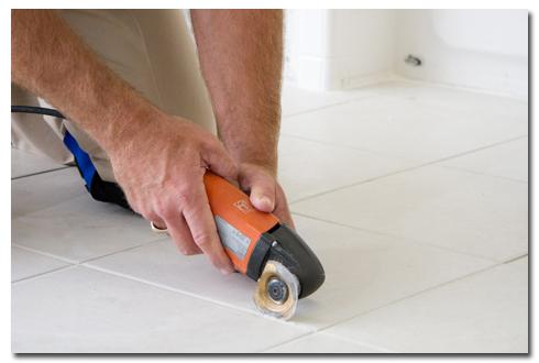 Ceramic Tile Repair For Basement Flooring The Grout Medic