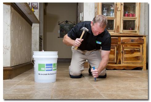fixing tile floor