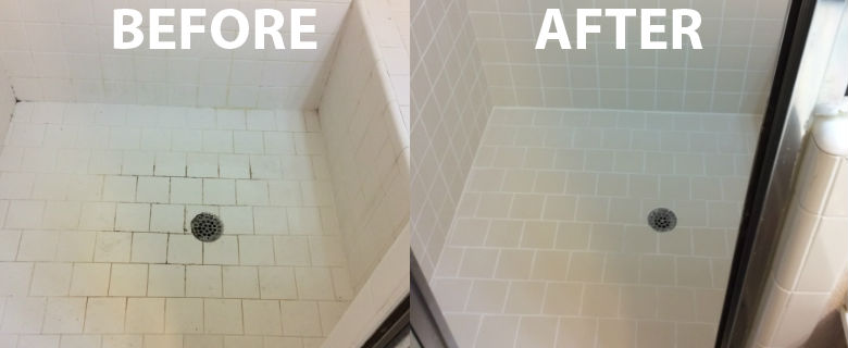 Before And After Re Grout