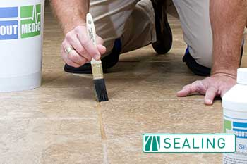 grout color sealing