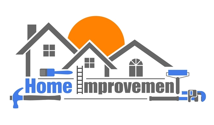 home improvement icon on white background