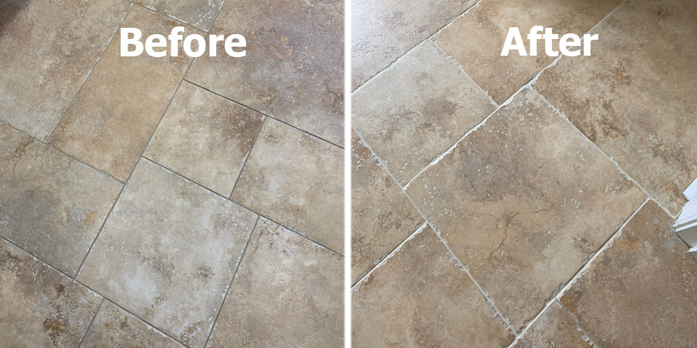 The Grout Medic tile and grout cleaning company