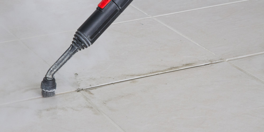 professional grout cleaning without Clorox bleach